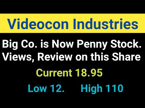 Review on Videocon Industries Ltd Stock - Penny Share Kya Multibagger Banega | Analysis, Views ...
