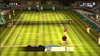 Topspin 2: Roddick vs Hewitt- MUST SEE how to beat Hewitt on Hard mode
