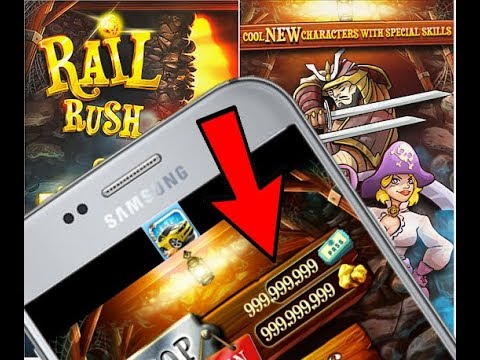 🎮 How to Download Rail rush mod apk in Hindi By Ntn Gameplex