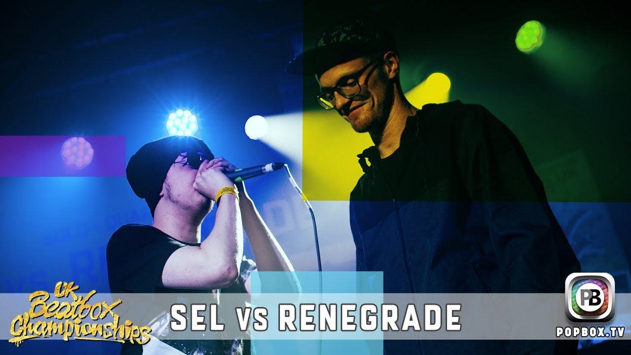 Sel vs Renegrade   Solo Quarter Final   2017 UK Beatbox Championships