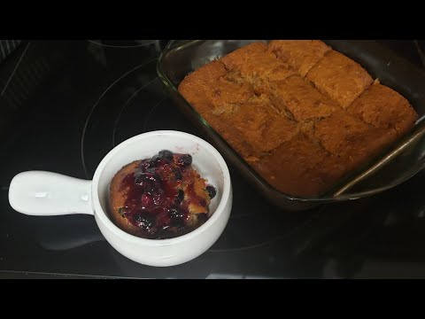 Old fashioned bread pudding 2 ways,! Bananna Blueberry & Cinnamon/White Chocolate!