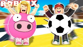 SUPER EPIC BULLET RACE! ⚡ (Roblox-Super Blocky Ball) | BELLA AND VITO
