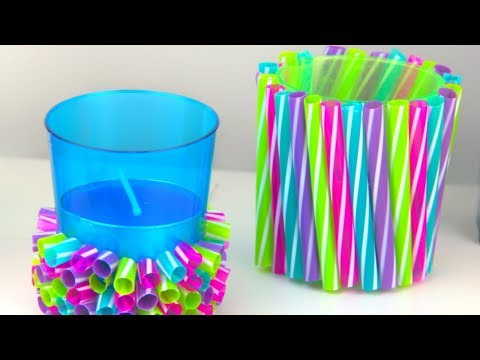 25 DIY And Crafts Projects With Drinking Straws By 5 Minute Craft Zone