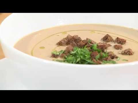 Крем суп из куриной печени