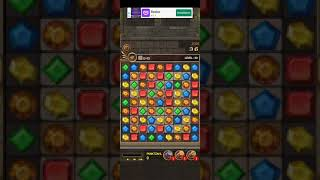 Jewels Temple-Quest 💎 Level 20 ⭐⭐⭐ - 2021 Match 3 Game no Booster 👑 Android Gameplay ✅ screenshot 4