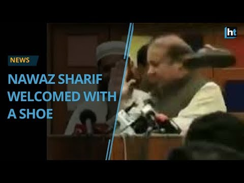 Nawaz Sharif's shoe throwing incident isn't the first one in Pakistan