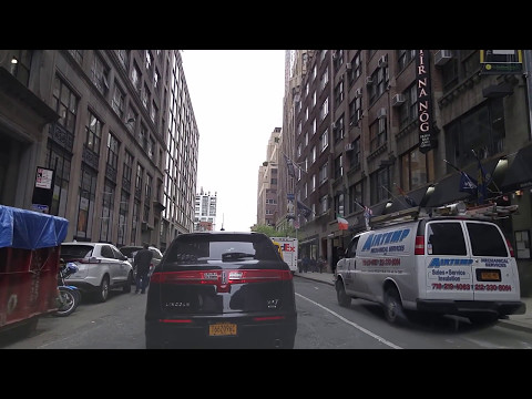Driving from Garment District in Manhattan,New York to Jersey City,New Jersey