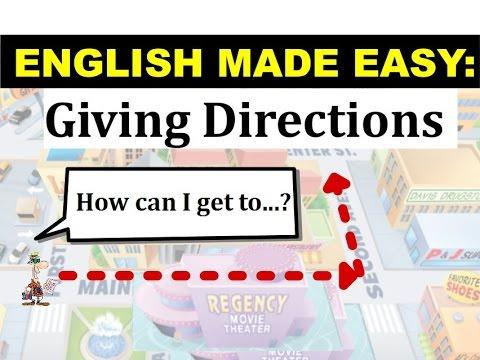 Snalaženje u gradu na engleskom