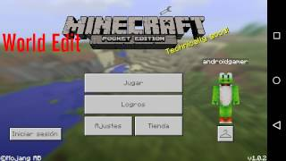 World Edit para Minecraft PE