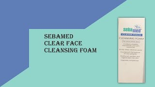 Sebamed Clear Face Cleansing Foam : ClickOnCare