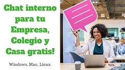 Chat interno gratis Beebeep Windows, Linux, Mac