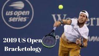 2019 US Open Bracketology
