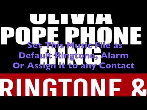 Scandal Olivia Pope Phone Ringtone and Alert