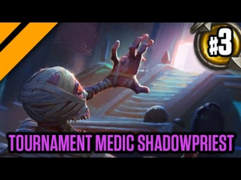 Day[9] HearthStone Decktacular #186 - Tournament Medic Shadowpriest P3