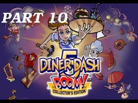 Diner Dash 5: BOOM Gameplay [Part 10] Flo's Diner Levels 6 - 10