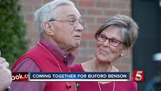 Coming together for Buford Benson