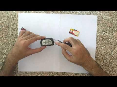 How To Replace Hyundai Sonata 2015 Key Fob Battery No