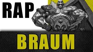 Braum - Rap dos Champions - Méqui Huê [League of Legends]