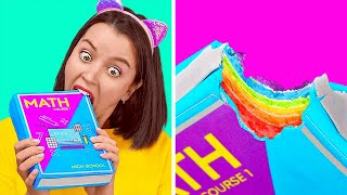 Edible DIY School Supplies || Crazy Ways To Sneak Snacks Into Class
