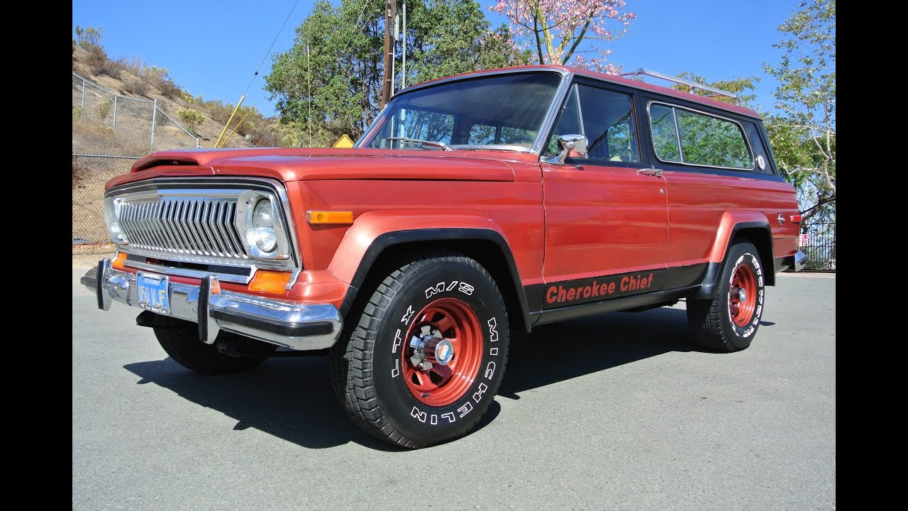 Jeep Cherokee Chief >> Levi S Jeep Cherokee Chief S Super Chief Levi Edition Wt 4x4 1 Owner W T Wide Track