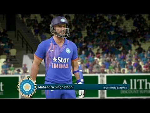 Don Bradman Cricket 17 India Vs England 2017 1st One Day Msd Is Back