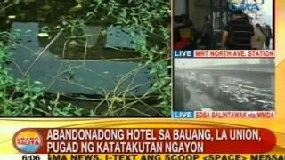 UB Abandonadong hotel sa Bauang La Union pugad ng katatakutan ngayon