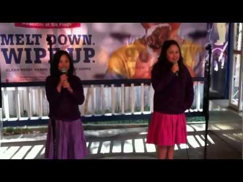 Libby and Mimi Karaoke