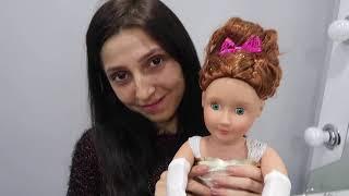 Gerçek Kuaför vs Çakma Kuaför En Güzel Oyuncak Bebek Saç Yapma Challenge ! Bidünya Oyuncak