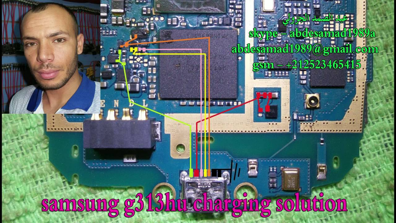 samsung g313hu charging ways solution