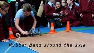 Rubber Band Powered Car Challenge