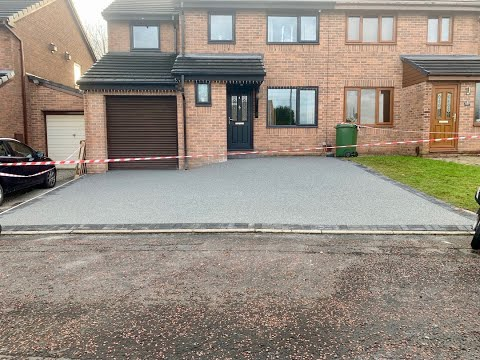Resin Bound Driveway Installed By The Resin Install Team Lancashire, Manchester