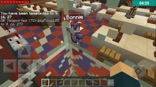 Minecraft pe FNAF 1 roleplay ep.1 bonnie