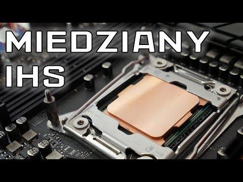 Miedziany IHS procesora - co to da? - test  - VBT