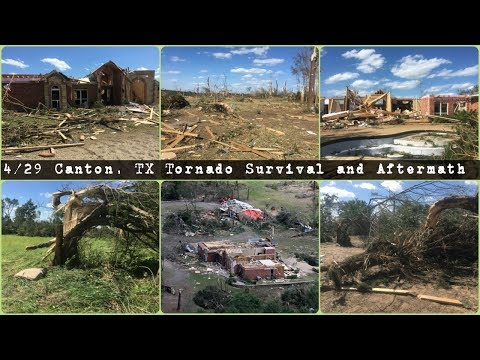 I Survived a Tornado: Part 1 | Canton, TX Tornadoes 4/29/2017