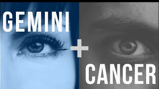 In bed Gemini man cancer woman and