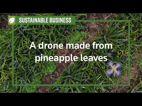 Изследователи превърнаха листа на ананас в части за дронове