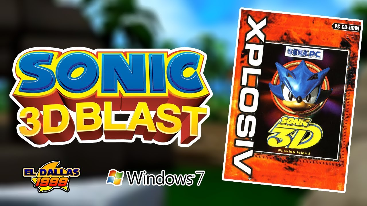 COMO DESCARGAR: Sonic 3D Blast para PC (Windows 7 / 8 / 8 1 / 10) - Loquendo