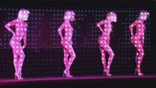 Nude cabaret dancers celebrate 20 years of Christian Louboutin's designer shoes