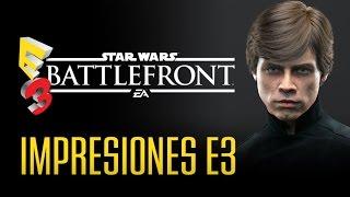 STAR WARS BATTLEFRONT: Impresiones galácticas en E3 2015