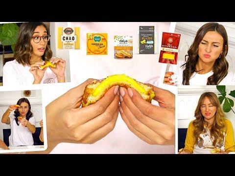 BLIND Vegan GRILLED CHEESE Taste Test! 🧀🧀🧀