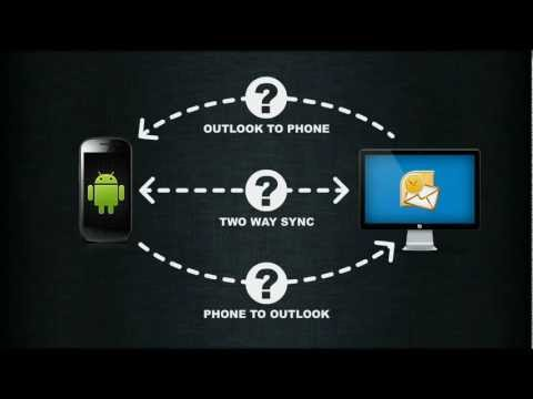 SyncRoid - Outlook Android Sync Via Bluetooth