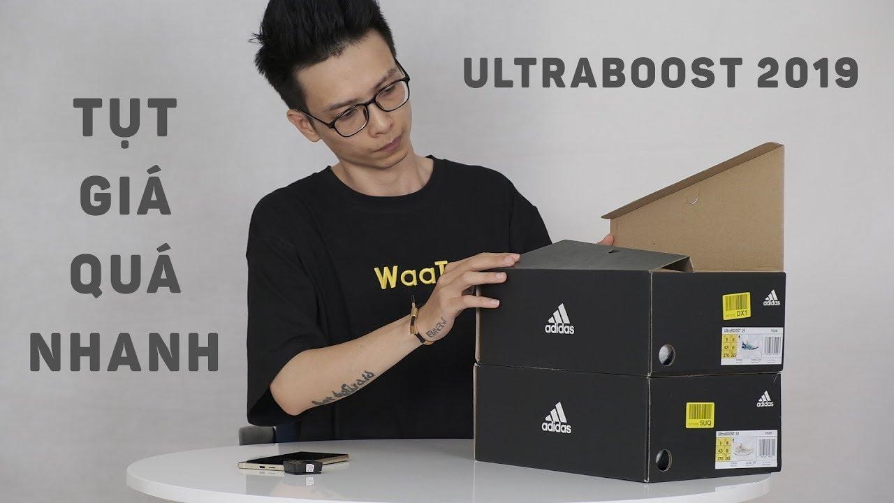 Ultraboost 19 đã tụt giá thảm hại chỉ còn 2mX mới sau nửa năm
