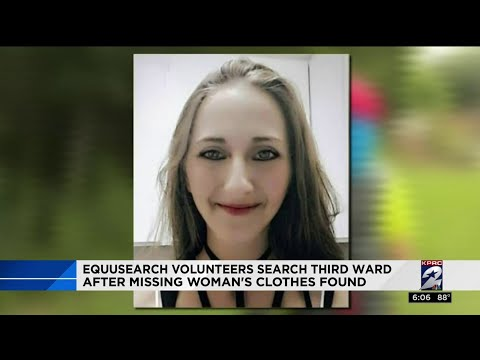 EquuSearch volunteers search Third Ward after missing woman's clothes found