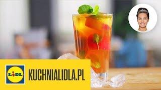 DOMOWA ICE TEA Z NEKTARYNEK  | Kinga Paruzel & Kuchnia Lidla