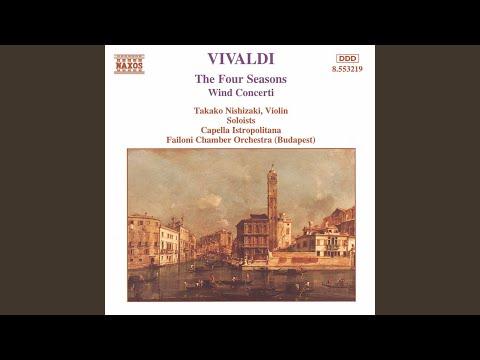 The Four Seasons, Violin Concerto in G Minor, Op. 8 No. 2, RV 315