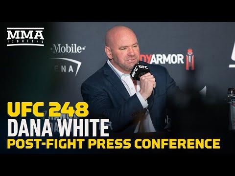 UFC 248: Dana White Post-Fight Press Conference - MMA Fighting