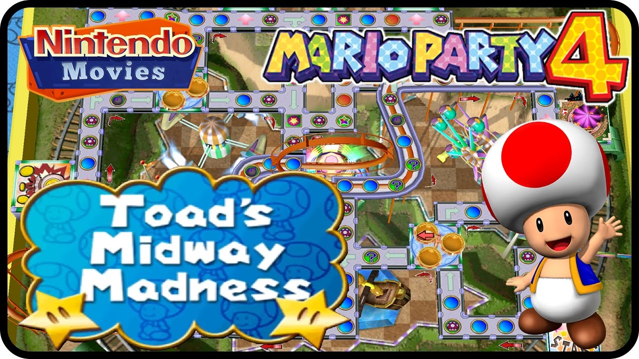 Mario Party 4 - Toad's Midway Madness (Multiplayer)