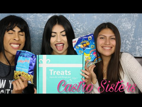 The Castro Sister Try Snacks from INDIA!