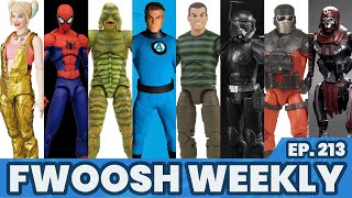 Weekly! Ep213: Star Wars, G.I.Joe, Marvel Legends, MAFEX, Batman, Voltron, Popeye, Mezco, NECA more!