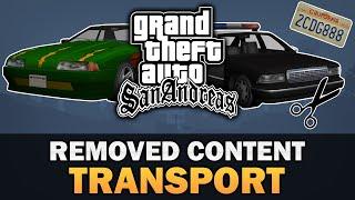 GTA San Andreas - Beta Transport [Analysis]